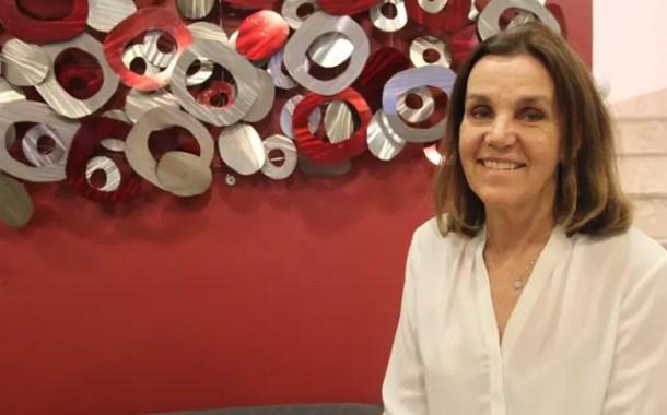 Gabrielade Londoño, da Gema Tours operadora, participa da Travelweek São Paulo