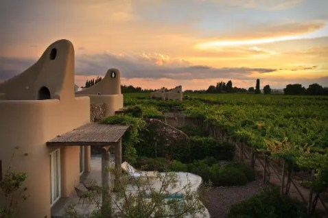 Cavas Wine Lodge, em Mendoza, Argentina (Foto: divulgação)