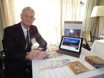 Corrado Neyroz, diretor de negócios do Hotel Hermitage, no Vale d´Aosta, Itália (Foto: Marcos Oliveira)