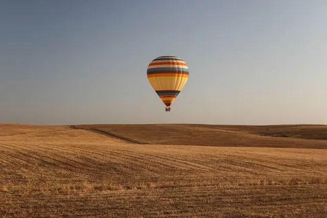 Passeio de balão pelo Alentejo (Foto: Divulgação)