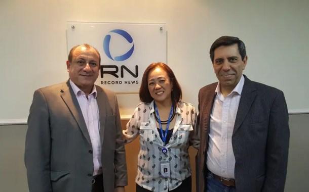 SPCVB e Record News assinam termo de cooperação mútua