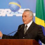 Frase do Dia: Michel Temer, presidente do Brasil