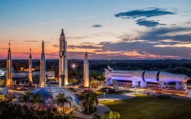 Parque da NASA celebra 50 anos de existência em 1º de Agosto