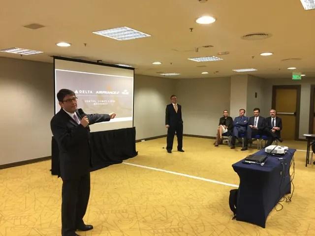Reunião da Abracorp apresenta novidades da Gol e Delta