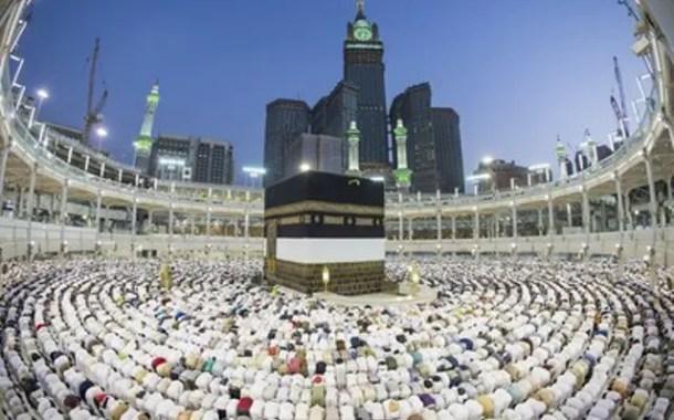 Quase 1,5 milhão de peregrinos chegam para Hajj, segundo Arábia Saudita