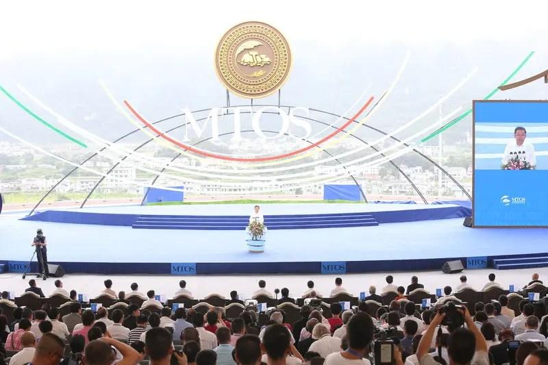 Começa a Conferência Internacional de Turismo e Esportes ao Ar Livre em Montanha, na China