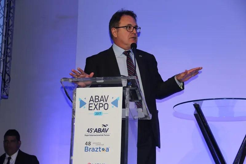 Frase do Dia: Vinícius Lummertz, presidente da Embratur na abertura da Expo-Abav