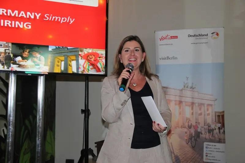Margaret Grantham, diretora do escritório de turismo da Alemanha no Brasil (DZT) (Fotos: DT)