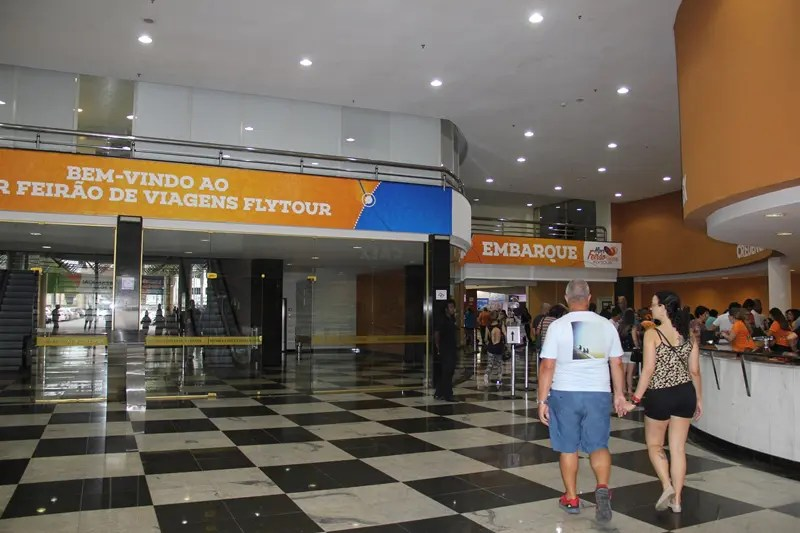 O Mendes Convention Center recebeu mais de 16 mil visitantes, sendo 6.200 na sexta-feira (22) e 9.921 no sábado (23)