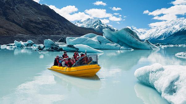 Nova Zelândia, geleiras, aventuras e emoção em estado puro