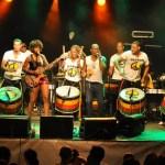 Olodum participa do Ano Novo na Costa do Sauípe