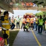 LATAM simula resgate de aeronaves no RIOgaleão