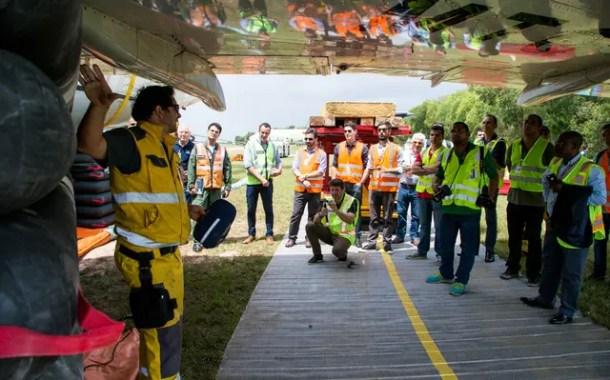 LATAM simula resgate de aeronaves no RIO galeão