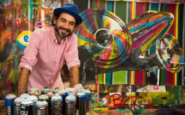 Eduardo Kobra cria obra tridimensional para os 25 anos da United no Brasil