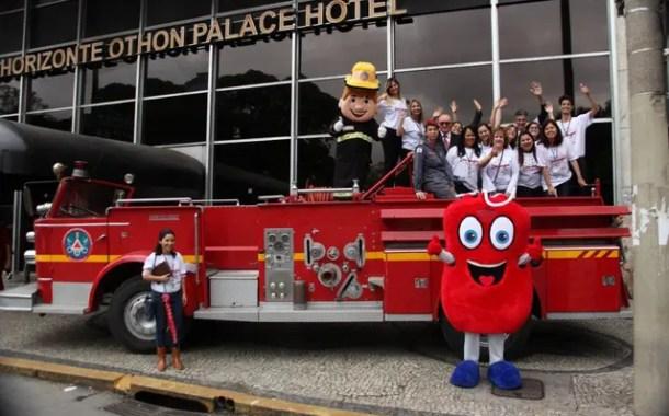 BH Othon Palace apoia ação de incentivo à doação de sangue