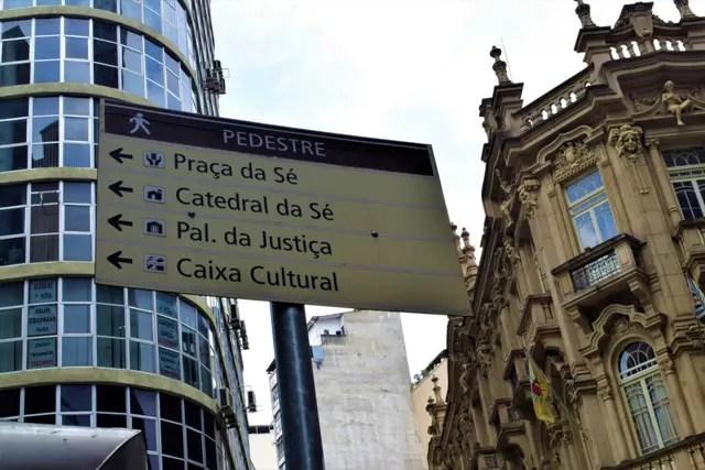 Placa de São Paulo (Crédito: Ana Azevedo/DT)