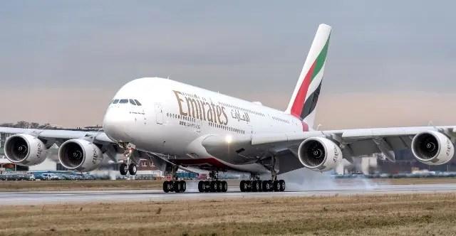 Até agora, mais de 200 milhões de passageiros já aproveitarama experiência única de voar a bordo de um A380 (Crédito: divulgação)