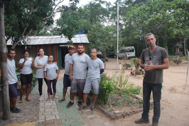 Marcelo Assub do Vereda Adventure e sua equipe de colaboradores e parceiros: tesouro nas mãos