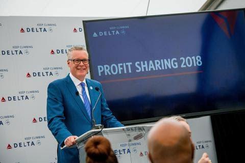 """Ed Bastian, CEO da Delta: """"Os funcionários da Delta são o motivo do nosso sucesso (Crédito: divulgação)"""