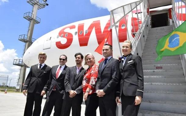 Swiss Air Lines apresenta seu Boeing 777-300R que fará rota São Paulo - Zurique