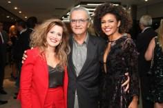 Patrícia Mellodi, Jorge Salomão e Luciana Barreto