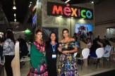 A cultura e a beleza do México representado na WTM Latin America.(Crédito: Ana Azevedo)