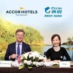 Ctrip, empresa chinesa e AccorHotels firmam acordo