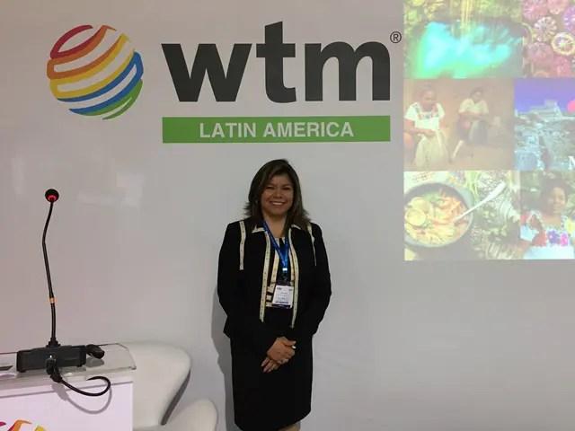 Diana Pomar, diretora-geral do Conselho de Promoção Turística do México (Crédito: Lucas Kina/DT)