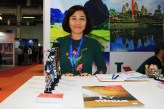 O Vietnã também fez presença na WTM Latin America 2018.(Crédito: Ana Azevedo)