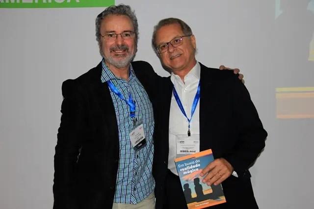 Paulo Atzingen e o Presidente Executivo do FOHB, Orlando de Souza