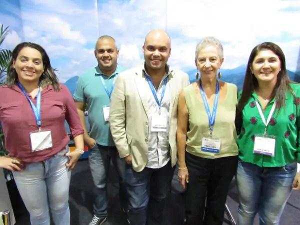 Daniela Ferreira, Carlos Eduardo Vieira, Gabriel Ramos Costa, Yara Roberts e Claudia Gomes