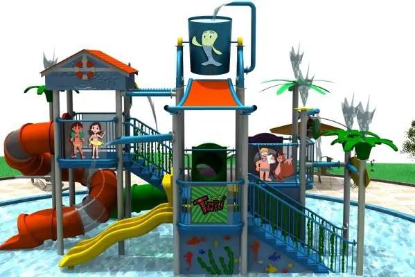Tauá Hotel e Convention Atibaia (SP) estreará nova piscina e brinquedo aquático em julho