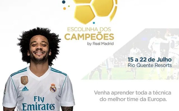 Rio Quente Resorts oferece escolinha de futebol do Real Madrid nas férias de julho
