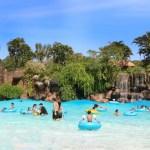 Moedas valem meia-entrada no parque aquático Thermas dos Laranjais
