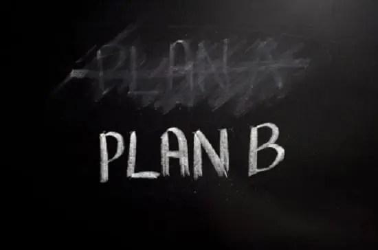 Como montar um plano B para superar a crise?