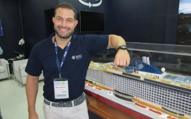 Abav Expo: MSC Cruzeiros promove a chegada ao Brasil do MSC Seaview, novo navio da companhia