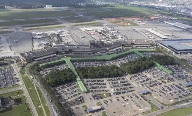 AVISO - GRU Airport realiza obras no terminal 2 e interdita, temporariamente, o check-in B