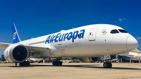 Air Europa anuncia nova rota entre a Europa e o Oriente Médio