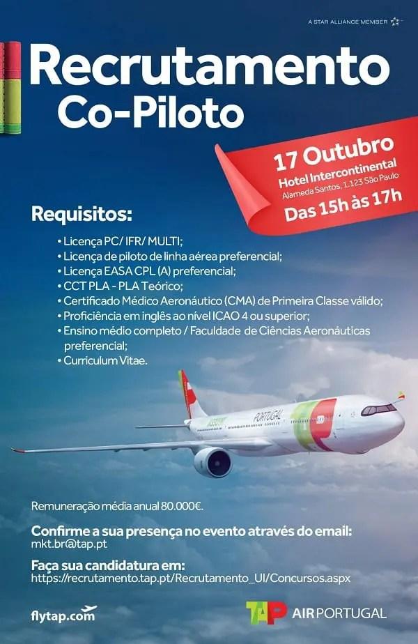 Recrutmento Piloto TAP - diario-do-turismo