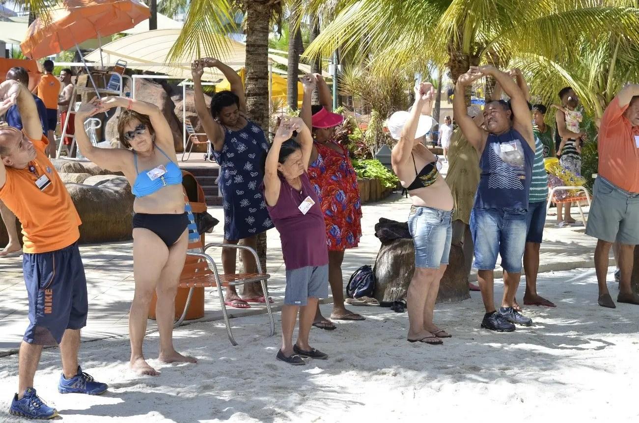 Thermas dos Laranjais recebe mais de 2,4 mil turistas na Semana da Terceira Idade