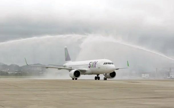 Sky Airlines inaugura voo de baixo custo entre Santiago e Rio de Janeiro