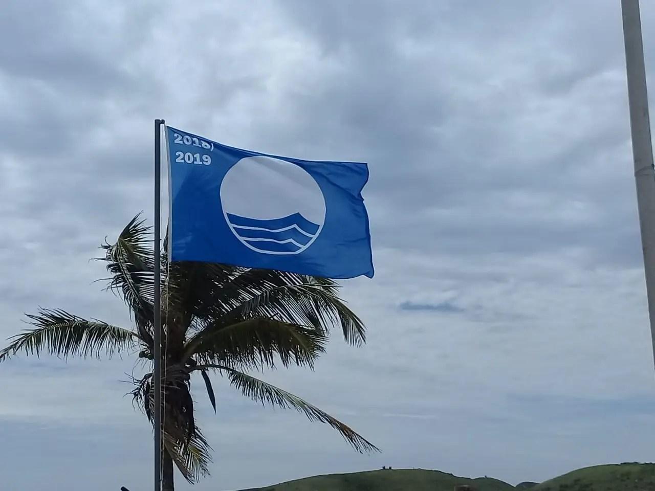 Praia do Peró, em Cabo Frio, recebe selo internacional de qualidade