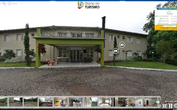 Confira o mergulho 360º no Hostel Bom Pastor em Nova Petrópolis (RS)