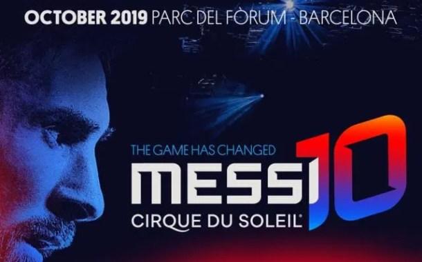 Melhor camisa 10 do mundo, Leo Messi é o homenageado em novo espetáculo do Cirque du Soleil