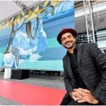 Eduardo Kobra inaugura mural com tema do aquecimento global no Principado de Mônaco