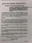 Publicado no Diário Oficial decreto do governo do Rio, que concede diferimento do ICMS para eventos
