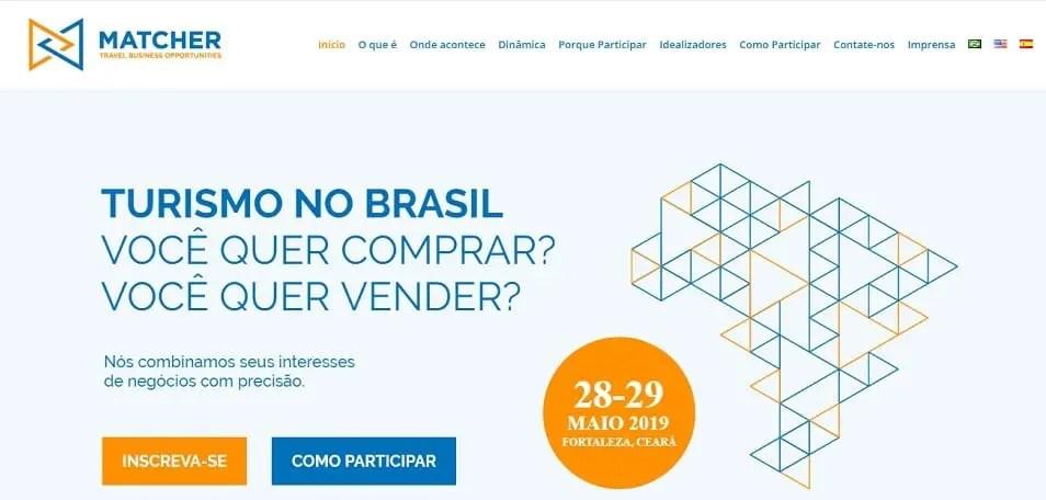 Fortaleza recebe a partir desta terça-feira (28) o Matcher - Travel Business Opportunities