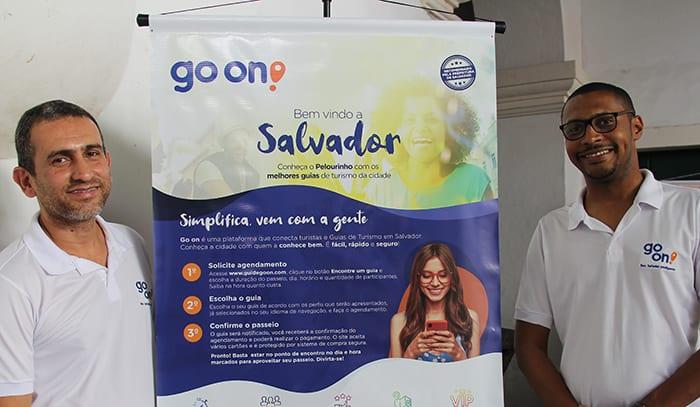 Plataforma Go On conecta turistas a guias em roteiros pelo Pelourinho