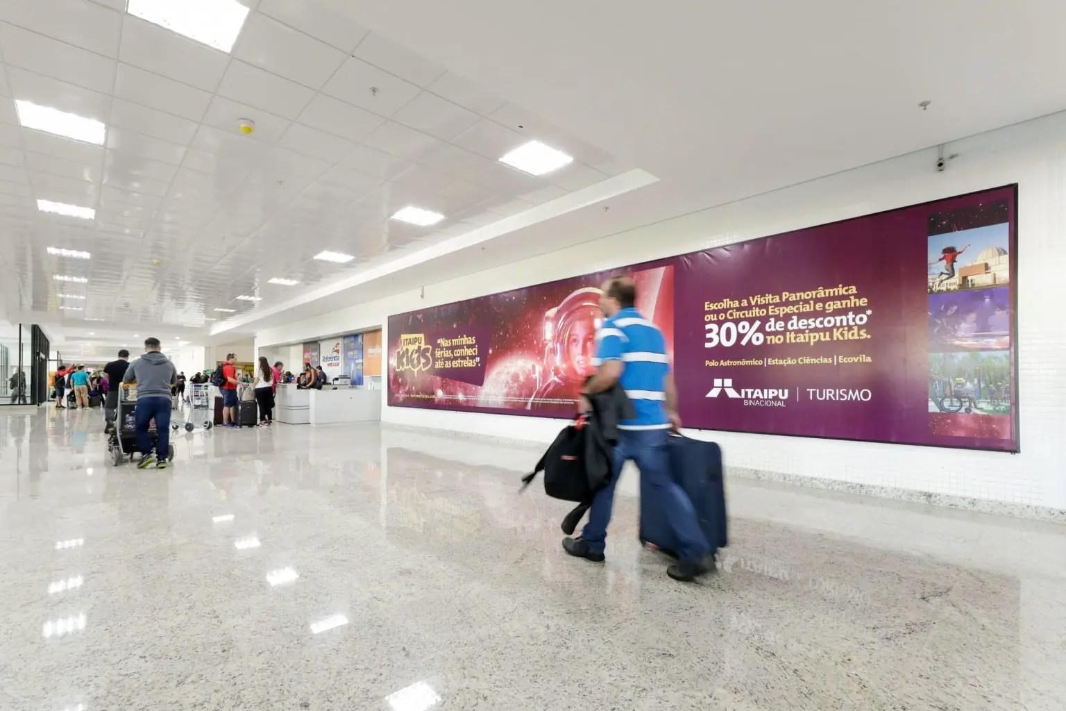 Aeroporto Internacional das Cataratas, em Foz do Iguaçu, deverá ser o primeiro aeroporto sustentável do País