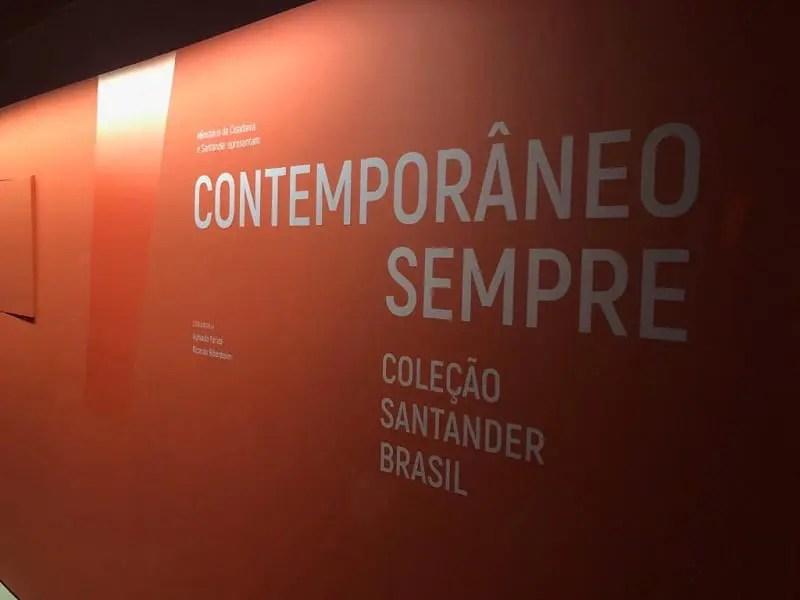 Farol Santander exibe pela primeira vez obras de arte do acervo Santander Brasil
